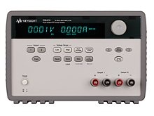 Keysight E3647A DC power supply, dual output, dual range: 0-35V/ 0.8 A and 0-60V/ 0.5 A, 60 W. G